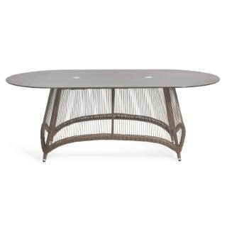 Aria oval dining table