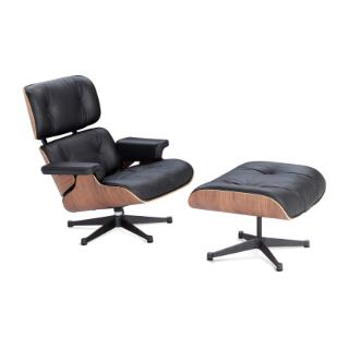 Bella Lounge Chair With Ottoman