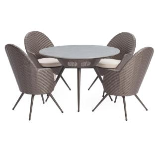 Cocktail round dining set