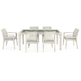 Dynasty 7 pieces dining set